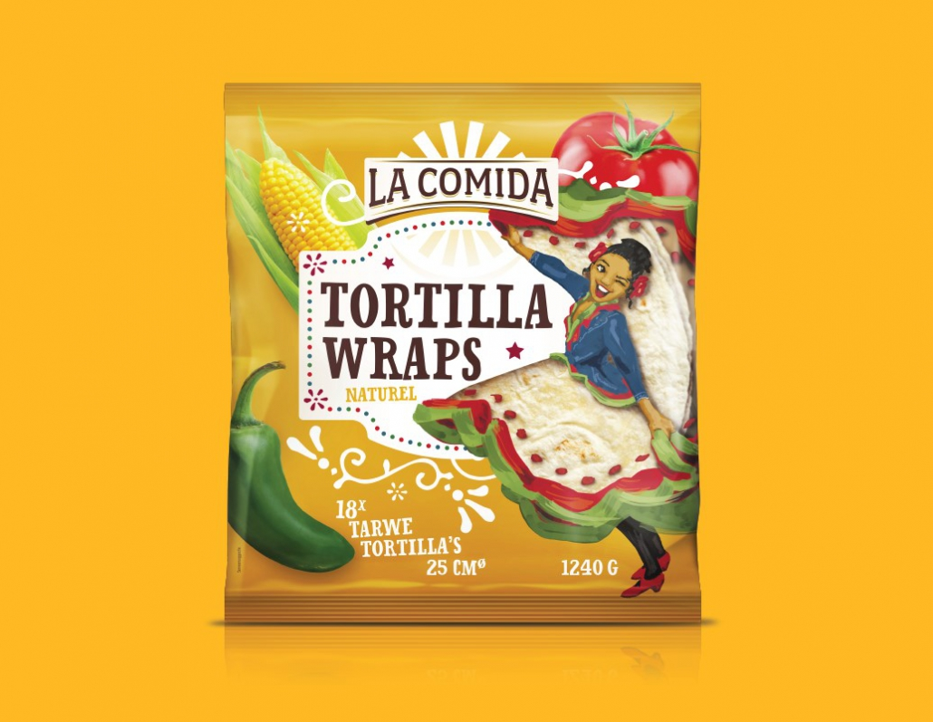 Guts&Glorious - Packaging Design Agency, La Comida - Let's celebrate the Mexican culture
